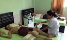 ผู้ป่วยหลอดเลือดสมองบ้านพักคนชรากาญจนาบุรี2556